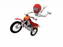 Salto di motocross illustrazione vettoriale