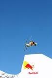 Salto di stile libero di Red Bull Immagine Stock Libera da Diritti