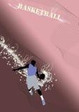 Salto do basquetebol Foto de Stock Royalty Free