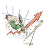 Salto elevado Fotos de Stock