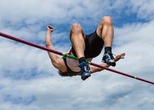 Salto elevado Fotografia de Stock Royalty Free