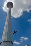 Salto internacional de la torre de Malasia Kuala Lumpur Imagen de archivo libre de regalías