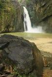 Salto Jimenoa Uno waterfall, Jarabacoa Royalty Free Stock Image