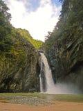Salto Jimenoa Uno waterfall, Jarabacoa Stock Photos