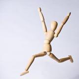 Salto para la alegría Foto de archivo