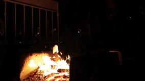 Salto sobre el fuego almacen de video