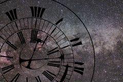 Salto temporal Tempo e espaço, relatividade geral fotos de stock