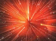 Salto temporal, viajando no espaço Foto de Stock Royalty Free