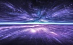 Salto temporal, viajando no espaço Dilatação do tempo Imagem de Stock Royalty Free