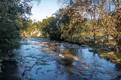 Salto Ventoso公园- Farroupilha,南里奥格兰德州,巴西 免版税库存照片