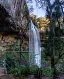 Salto Ventoso瀑布- Farroupilha,南里奥格兰德州,巴西 免版税库存照片