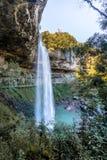 Salto Ventoso瀑布- Farroupilha,南里奥格兰德州,巴西 库存照片