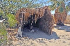 Salton morze: Indiański mieszkanie Fotografia Royalty Free