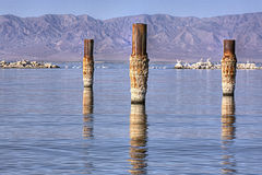 Salton Sea Bombay Beach Stock Photography