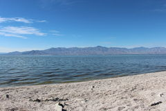 Salton Sea Landscape California Stock Image