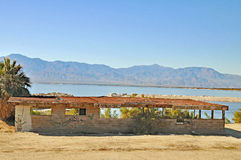 Salton Sea: Snack & Bait Shop Stock Image