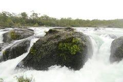Saltos de petrohue, Waterfalls of petrohue Royalty Free Stock Photography