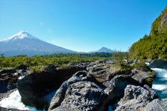 Saltos del Petrohue royalty free stock photo