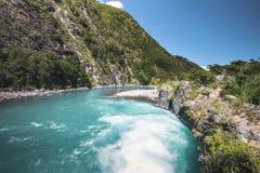 Saltos del Petrohue Waterfalls - Los Lagos Region, Chile. Saltos del Petrohue Waterfalls in Los Lagos Region, Chile stock image