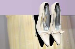 Saltos elevados brancos Fotos de Stock Royalty Free