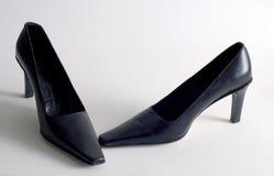 Saltos pretos Imagem de Stock