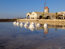 Saltpans Нубии Стоковые Фото