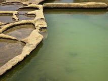 Saltpans Стоковые Фото