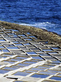 Saltpans Royalty Free Stock Photos
