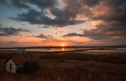 Saltpans, Burgas, Bułgaria Zdjęcie Royalty Free