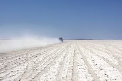 Saltplain Stockbilder
