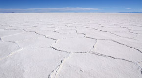 Saltplanes d'Uyuni Images libres de droits