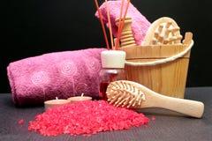 Salts of bath Stock Photos