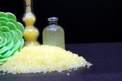 Salts of bath Stock Photography