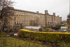 Salts Mill, Saltaire, Shipley, West Yorkshire, England stock photo