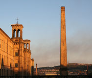 Salts Mill in Saltaire, Yorkshire Stock Image