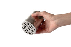 Saltshaker (With Clipping Path) Stock Photo