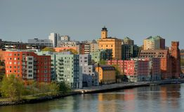 Saltsjokvarn a Stoccolma Fotografia Stock