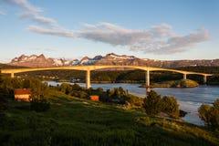 Saltstraumen Bridge Stock Photography