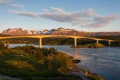 Saltstraumen most Zdjęcie Stock