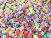 Saltvattens- Taffy Candy Background royaltyfri bild