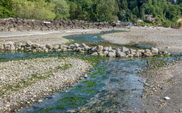 Saltwater Stream 5. A view of the stream at Saltwater State Park in Des Moines, Washington stock photos