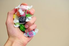Saltwater Taffy Stock Image