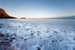 Saltwick Bay in Whitby Stock Images