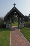 Saltwood Church Lych Gate Stock Photos