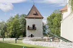 Saltworks Castle Stock Images