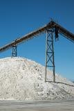 Saltworks della Nuova Zelanda Fotografie Stock Libere da Diritti