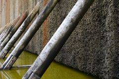 Saltworks in Germany Stock Photos