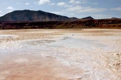 Saltworks Pedra de Lume Royalty Free Stock Images