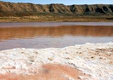 Saltworks Pedra de Lume Stock Photography