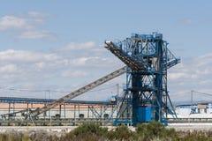 Saltworks in Santa Pola Stock Afbeeldingen